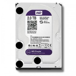 Жесткий диск HDD SATA-III 2,0Tb WD WD20PURZ Purple,5400rpm,64Mb