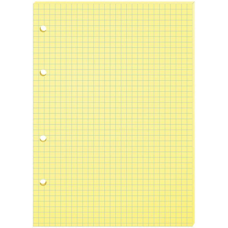 Сменный блок Спейс А5 80л. желтый (СБц80 217)