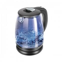 Чайник Redmond RK-G1781 Black (2200Вт,1.7л,стекло/пластик,закрытая спираль)