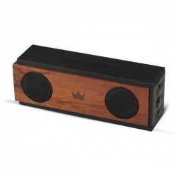 Портативная колонка Crown CMBS-309 6Вт, Bluetooth, MicroSD, питание от батарей/USB, Дерево