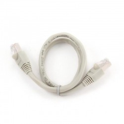 Патч-корд   0.5m кат 6 UTP серый Cablexpert PP6U-0.5M