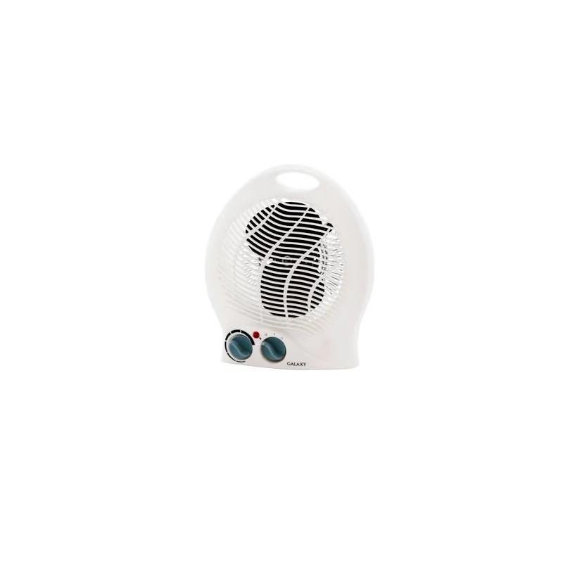 Тепловентилятор Galaxy GL 8171 White 1000/2000Вт, спираль