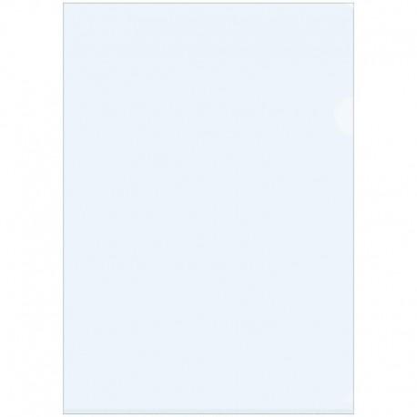 Папка-уголок A4 150мкм. Спейс прозрачная, бесцветная (Fmu15-1 862)