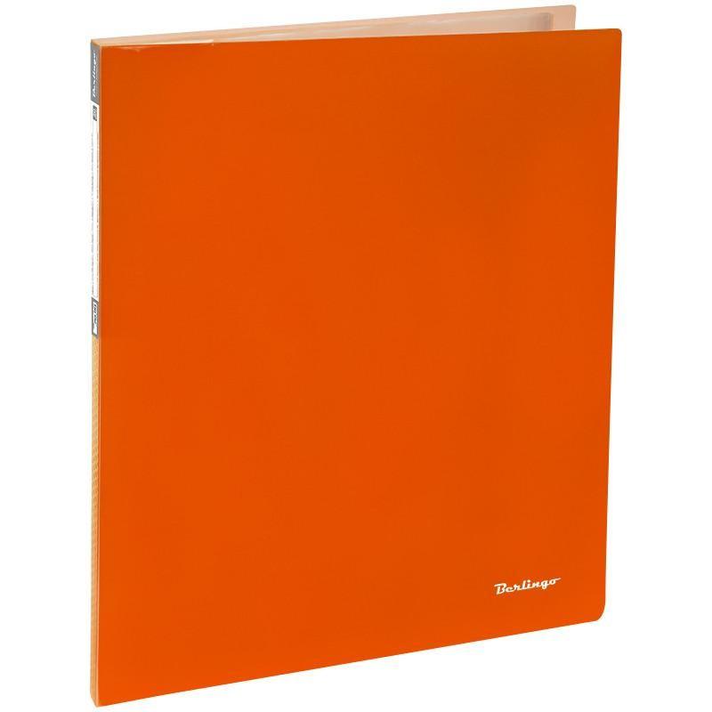 """Папка с 20 вкл. BERLINGO """"Neon"""" 14мм. 700мкм, неоновая оранжевая (AVp 20804)"""