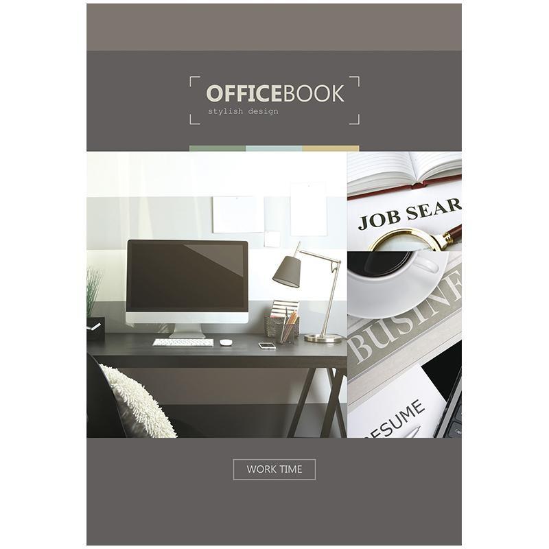 "Бизнес-блокнот OfficeSpace А5 80л. ""Офис. Officebook"" ББ5лт80 13891"