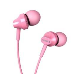 Гарнитура Remax RM-501 вставные, 16Ом, 103дБ, кабель 1.2м, Pink