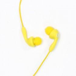 Гарнитура Remax RM-505 вставные, 32Ом, 95дБ, кабель 1.2м, Yellow