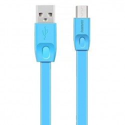 USB кабель Lightning REMAX Full Speed RC-001i для iPhone 6/6 Plus (2m) blue