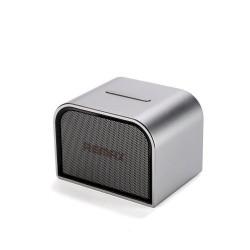 Портативная колонка Remax RB-M8 Mini Bluetooth, FM, вход AUX, громкая связь, Серебро