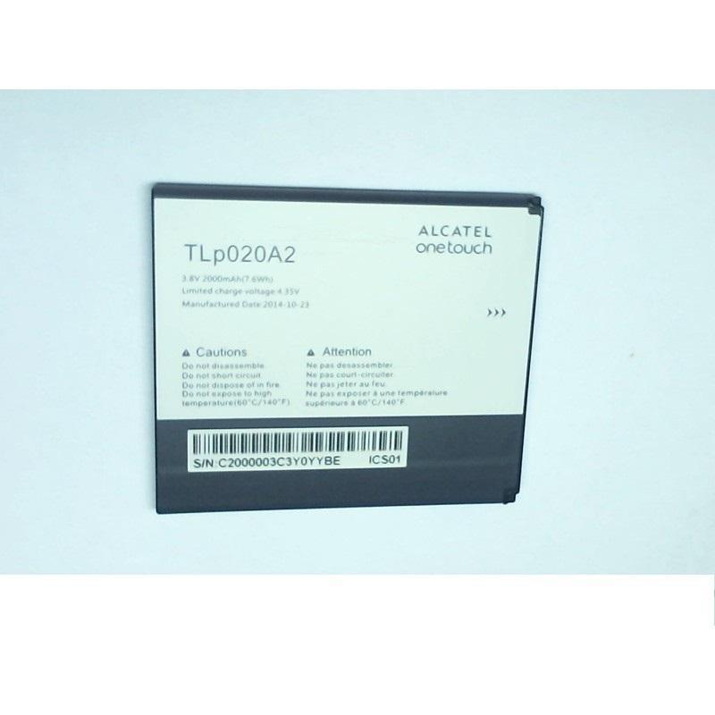 АКБ Alcatel TLp020A2 (OT-5050X/OT-5050Y) 3.8V 2000mAh