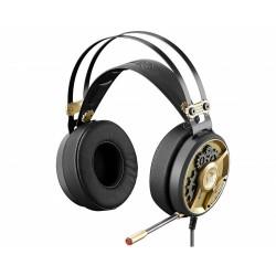 Игровая гарнитура A4Tech Bloody M660 мониторные, 16Ом, 102дБ, кабель 1.2м,  Black/Bronze