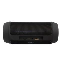 Портативная акустика Ginzzu GM-994G 10Вт, Bluetooth, FM, microSD/USB, AUX, PowerBank, Black