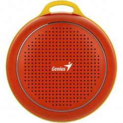 Портативная акустика Genius SP-906BT Plus 3Вт, Bluetooth 4.1, питание от аккумулятора, Red
