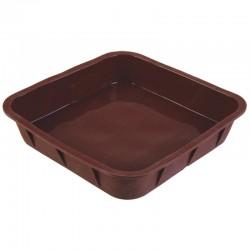 Форма для выпечки TalleR TR-6210 квадратная,25*25*5.3см,силикон