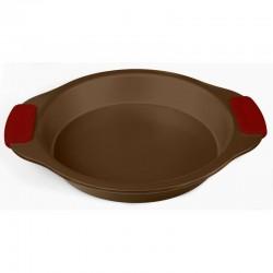 Форма для выпечки TalleR TR-6306 круглая,26*4.5см,угл.сталь,антиприг.покрытие