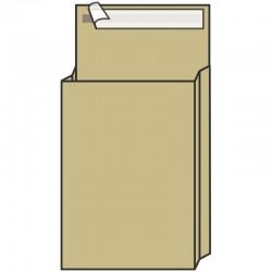 Конверт-пакет UltraPac 229х324х40 крафт-бумага, с отрывной полосой (381227)