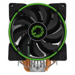 Кулер GameMax Gamma 500 Green (187W,120mm,800-1500rpm,Green Led,PWM,Al+Cu,S115х/775/AMx/FMx/AM4)