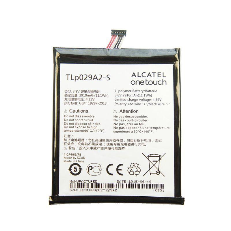 АКБ Alcatel TLp029A2-S (OT-6045Y) 3,8v 2910mAh
