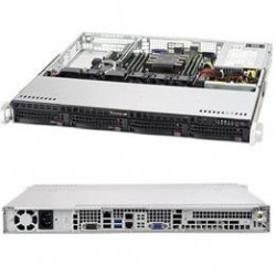 Supermicro SuperServer 1U 5019P-M noCPU(1)Scalable/TDP 70-165W/ no DIMM(6)/ SATARAID HDD(4)LFF/ 2xGbE/1xFH, M2/ 1x350W