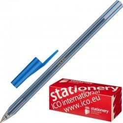 """Ручка шариковая ICO """"Orient"""" 0.5мм. синяя (44693)"""