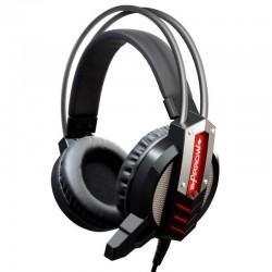 Игровая гарнитура Oklick HS-L450G ARROW мониторные, 32Ом, 95дБ, кабель 2.2м, Black