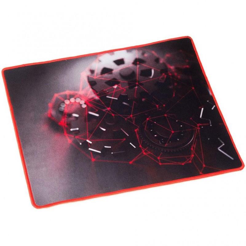 "Игровой коврик Oklick OK-F0350 тканевый (350х280х3) рисунок ""грани"""