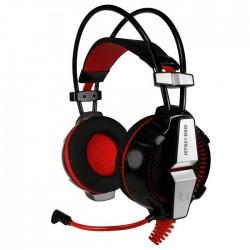 Игровая гарнитура Jet.A GHP-400 PRO 7.1 мониторные, 32Ом, 112дБ, кабель 2.2м, Black/Red