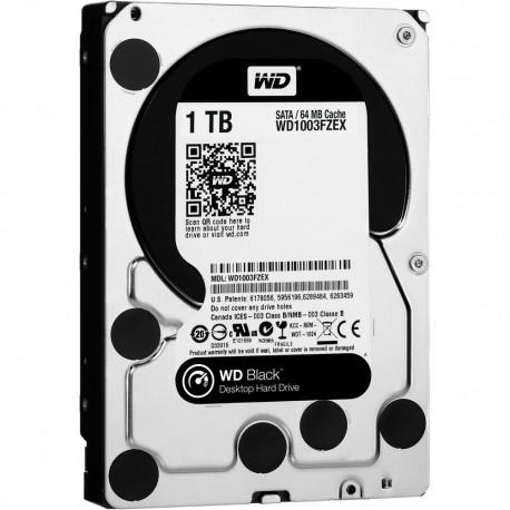 Жесткий диск HDD SATA-III 1,0Tb WD WD1003FZEX Black,7200,64Mb