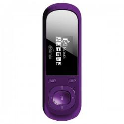 "MP3 плеер RITMIX RF-3360 4Gb (Пурпурный1"",FM,диктофон,MP3,WMA,WAV,MicroSDHC до 16Gb,до 10ч)"