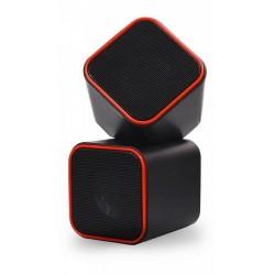 Актив.колонки 2.0 SmartBuy Cute (SBA-2590) 6Вт, питание от USB, пластик, Black/Orange