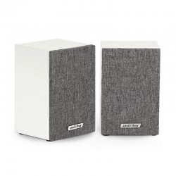 Актив.колонки 2.0 SmartBuy Fusion (SBA-3300) 6Вт, питание от USB, MDF, White/Gray