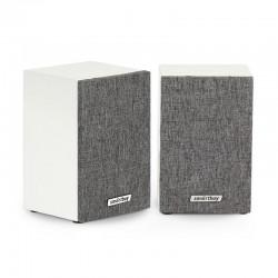 Актив.колонки 2.0 SmartBuy Fusion (SBA-3300) 6Вт, питание от USB, MDF, White/Gray