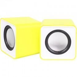 Актив.колонки 2.0 SmartBuy Mini (SBA-2820) 5Вт, питание от USB, пластик, Yellow