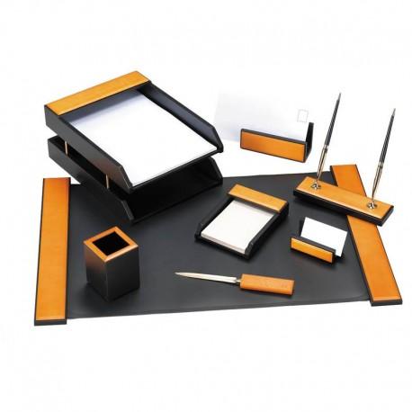 Набор настольный DELUCCI 8 предметов, светло-черный (MBn_08206)