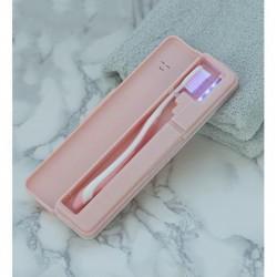 Бокс для зубной щетки Remax Leyee Toothbrush  sterilizer, pink