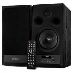 Актив.колонки 2.0 Sven MC-20 90Вт, Bluetooth, FM, MicroSD/USB, питание от сети, MDF, Black