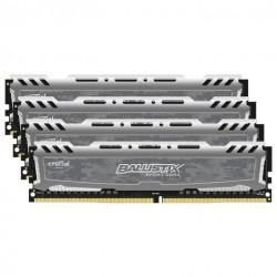Оперативная память Crucial DIMM DDR4 16Гб(2400МГц, CL16, 4x4Гб, BLS4C4G4D240FSB))