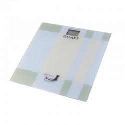 Весы Galaxy GL 4801 Silver стекло, точность 0,1кг, макс. 180кг, авто вкл/выкл
