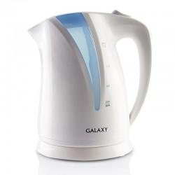 Чайник Galaxy GL 0203 White/blue (2200Вт,1.7л,пластик,закрытая спираль)