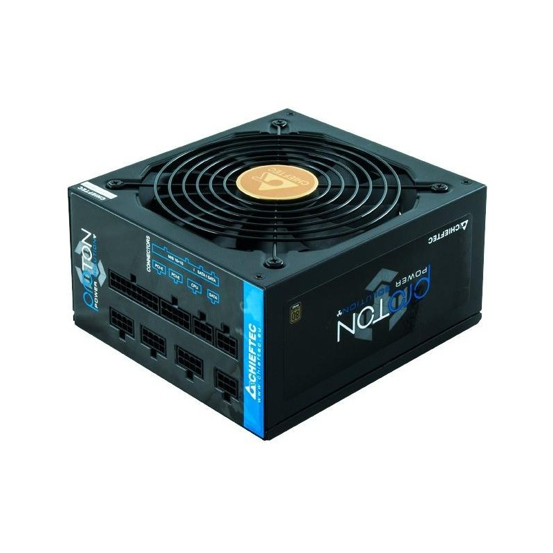 Блок питания 1000w Chieftec BDF-1000C (20+4+4pin,140mm,APFC,80+Bronze,CM)
