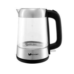 Чайник Kitfort КТ-610 Silver (2200Вт,1.7л,стекло,закрытая спираль)