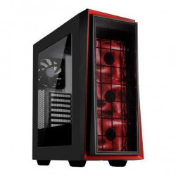 Корпус ATX SilverStone RedLine [SST-RL06BR-GP] (USB,Audio,Window,Red Led,Black)