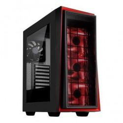 Корпус ATX SilverStone RedLine [SST-RL06BR-GP] (USB,Audio,Window,Red Led,Black)