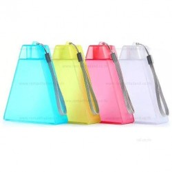 Бутылка для воды Remax RT-CUP34 Pyramid Happinese Cup, пластик, 240мЛ, Yellow