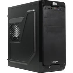 Корпус ATX Exegate UN-604-400W-12 (Black,USB,Audio,Б/П 400w)
