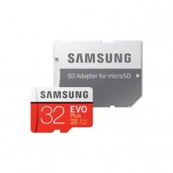 Карта памяти MicroSDHC 32Gb Samsung Class10 SD adapter MB-MC32GA/RU EVO PLUS UHS-I U1 20/95MB/s