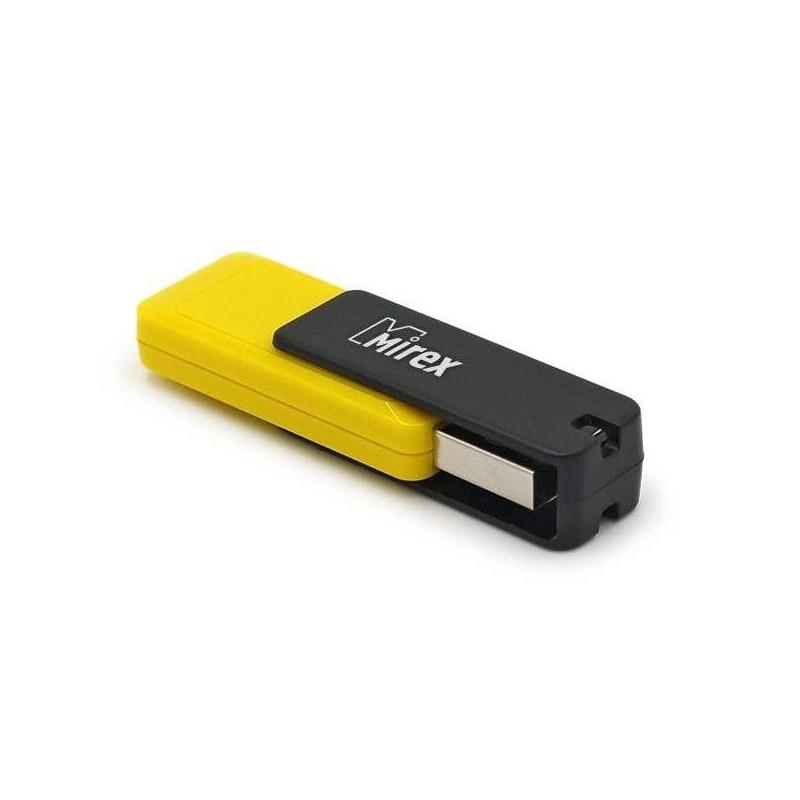 Флеш-накопитель USB2.0 16Gb Mirex City желтый 13600-FMUCYL16