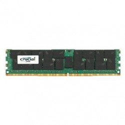 Crucial by Micron DDR4   64GB (PC4-19200) 2400MHz ECC Registered Load Reduced QR x4 (Retail)