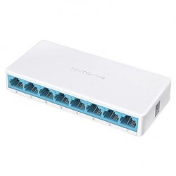 Коммутатор Mercusys MS108 (8-port 10/100 Mbps)