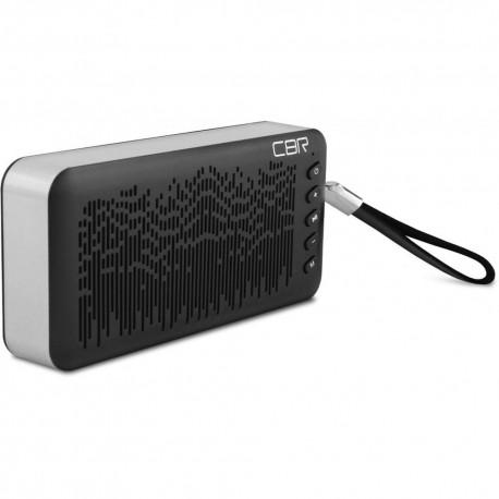 Портативная акустика CBR CMS-144 6Вт, Bluetooth, microSD, Power Bank, питание от батарей, Black